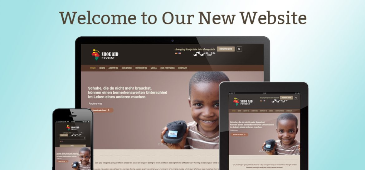 The new Shoe Aid Project Website is out