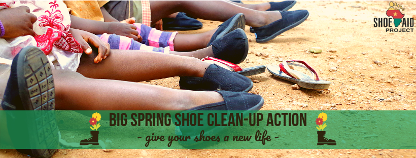 888f4c57313 Big Spring Clean-Up Action  Get rid of your unwanted shoes! - Shoe Aid